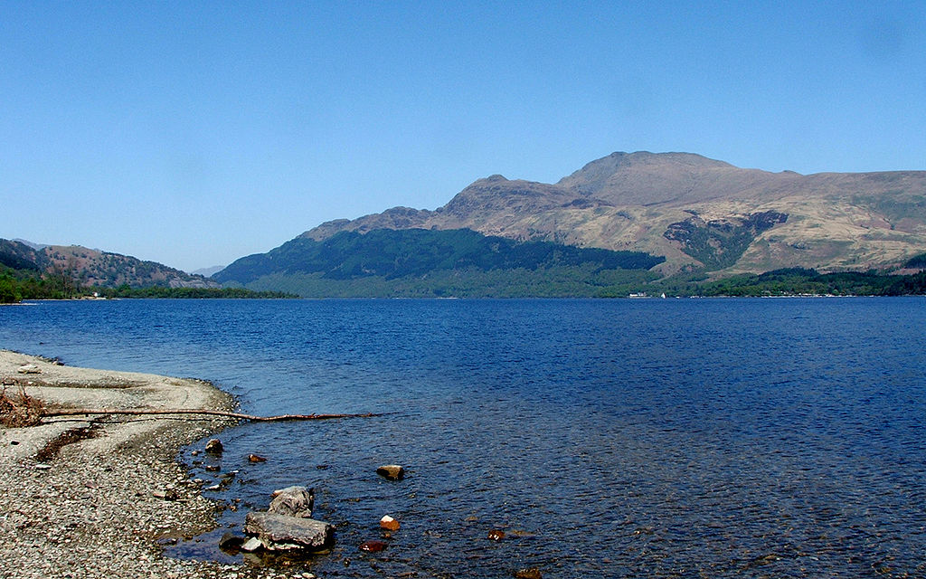 A view of Loch Lomond