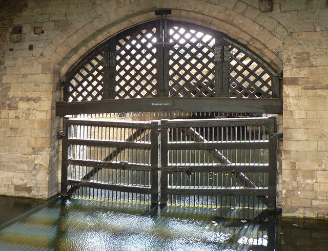 Traitors Gate, in the Tower of London