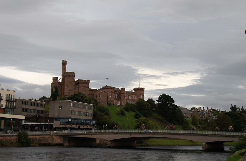 Inverness Castle and Ness Bridge