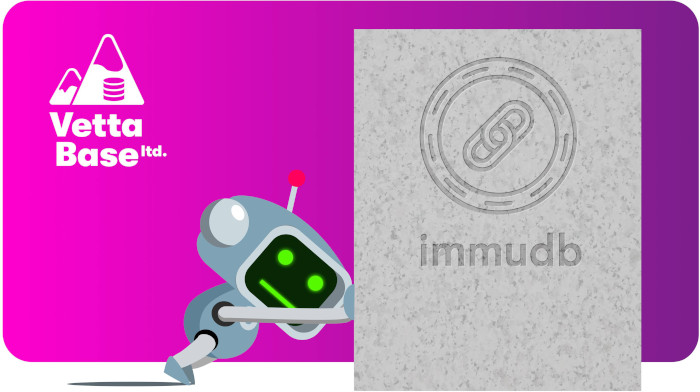 immudb is an immutable database: we could not remove any data!